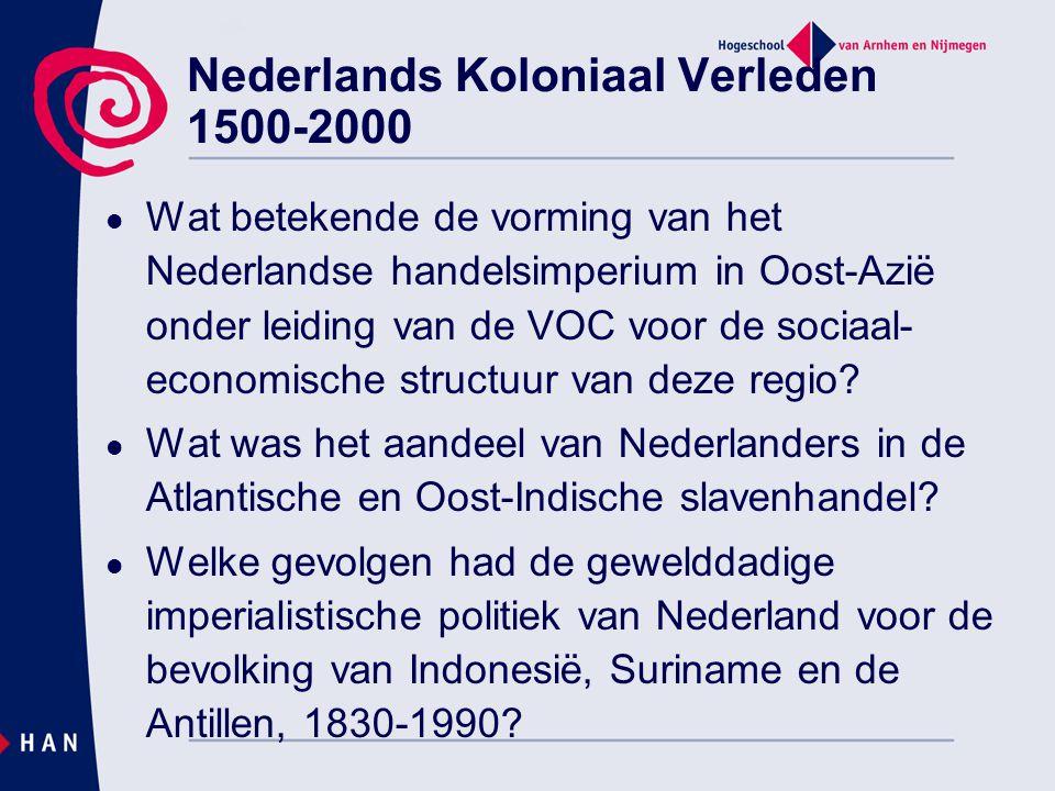 Nederlands Koloniaal Verleden 1500-2000