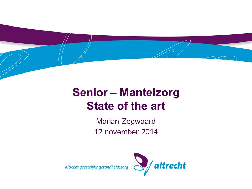 Senior – Mantelzorg State of the art