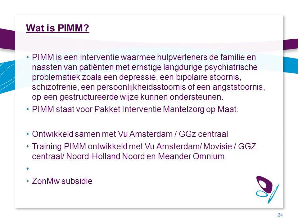 Wat is PIMM