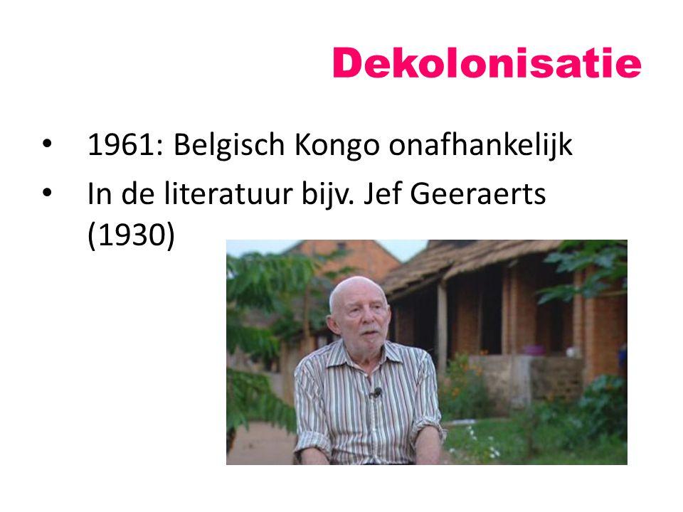 Dekolonisatie 1961: Belgisch Kongo onafhankelijk