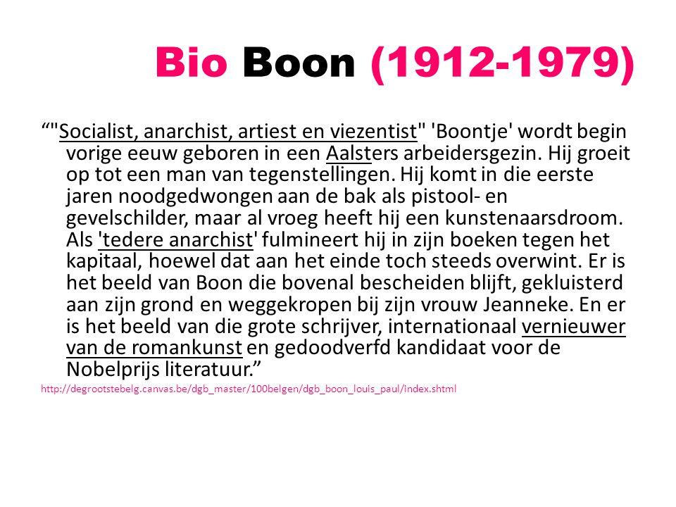 Bio Boon (1912-1979)