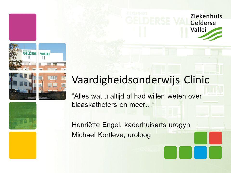 Vaardigheidsonderwijs Clinic