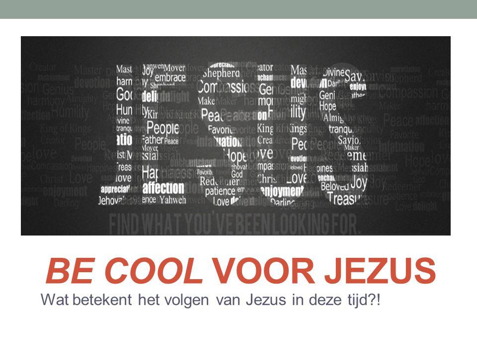 Wat betekent het volgen van Jezus in deze tijd !