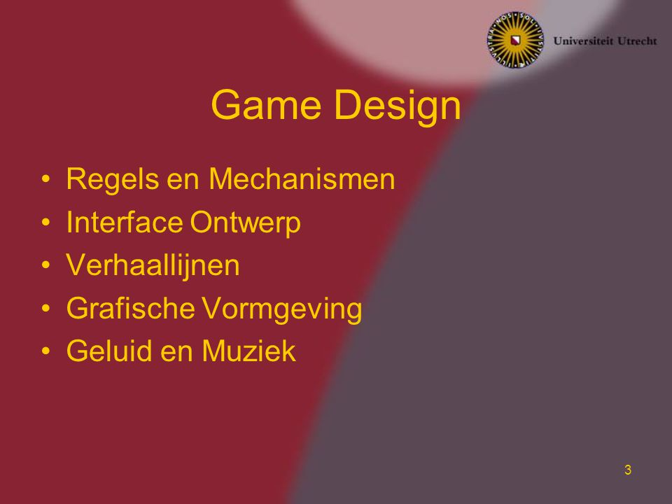 Game Design Regels en Mechanismen Interface Ontwerp Verhaallijnen
