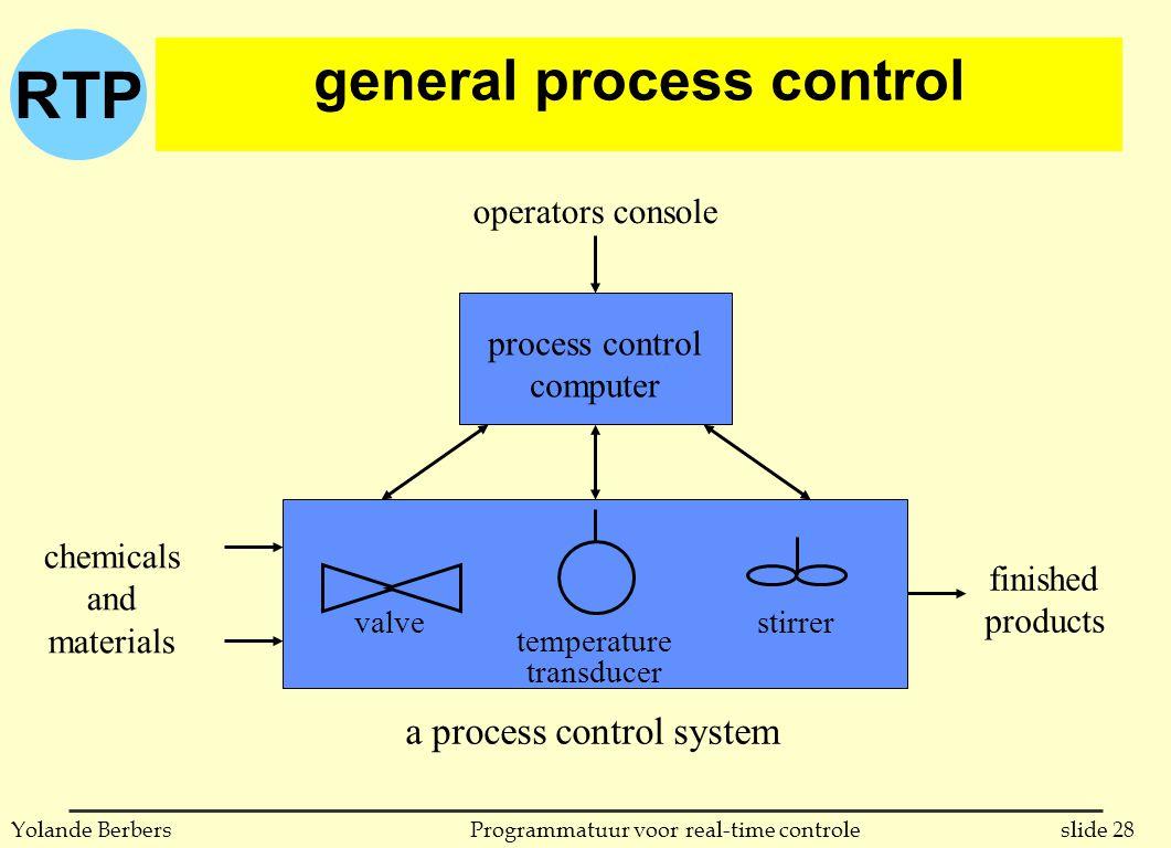 general process control