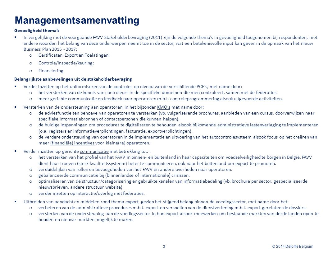 Managementsamenvatting