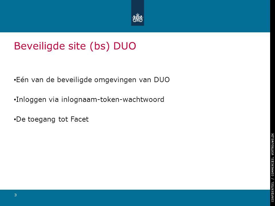 Beveiligde site (bs) DUO