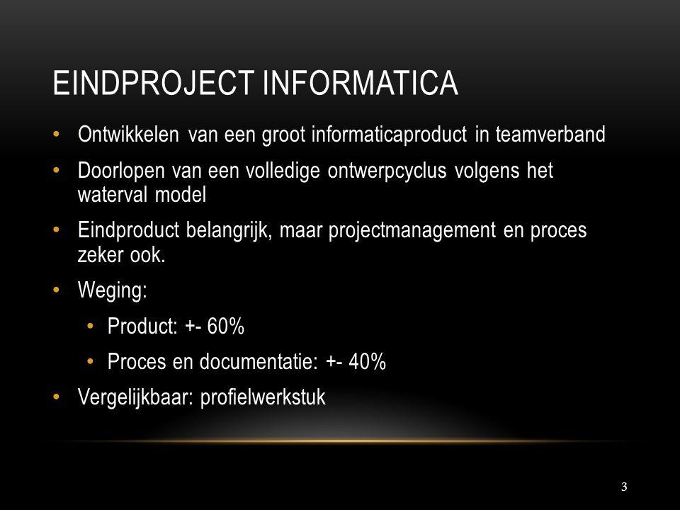 Eindproject Informatica