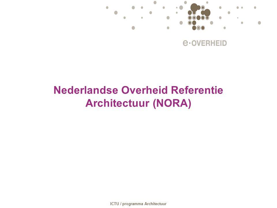 Nederlandse Overheid Referentie Architectuur (NORA)