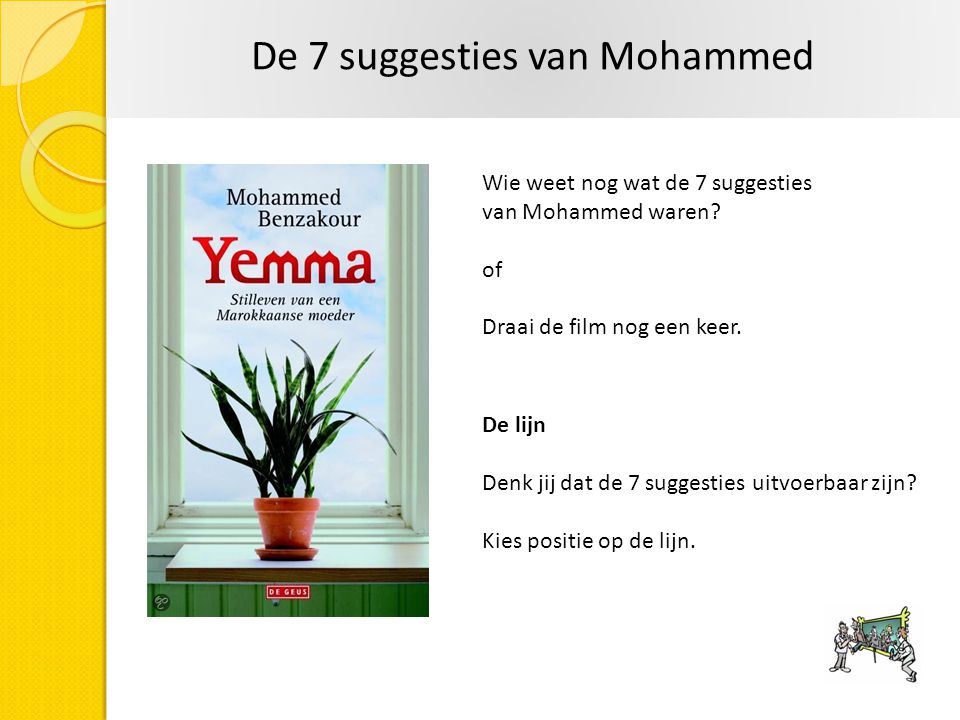De 7 suggesties van Mohammed