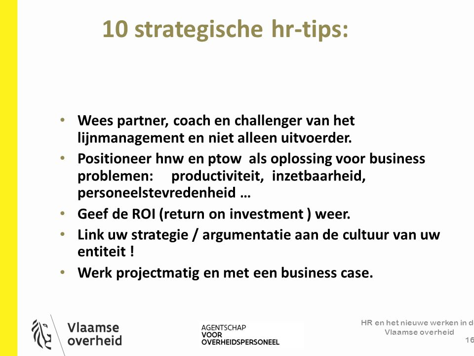 10 strategische hr-tips: