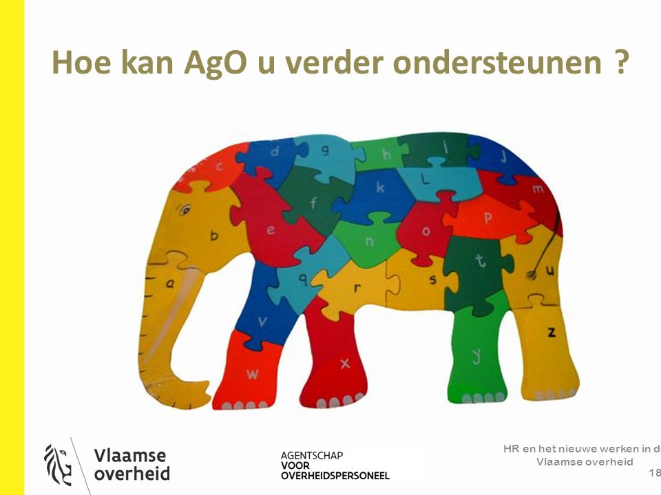 Hoe kan AgO u verder ondersteunen