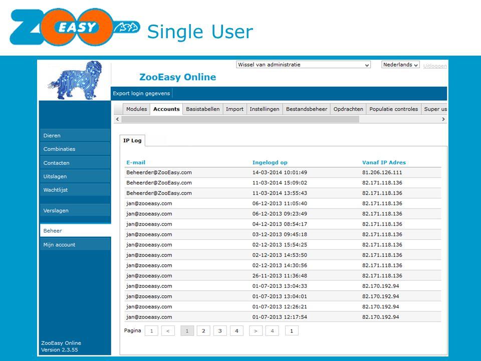 Single User