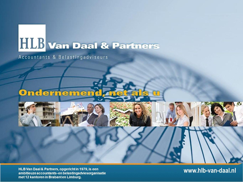 www.hlb-van-daal.nl HLB Van Daal & Partners, opgericht in 1979, is een