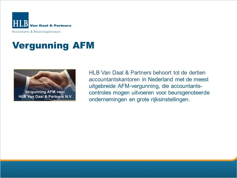 Vergunning AFM