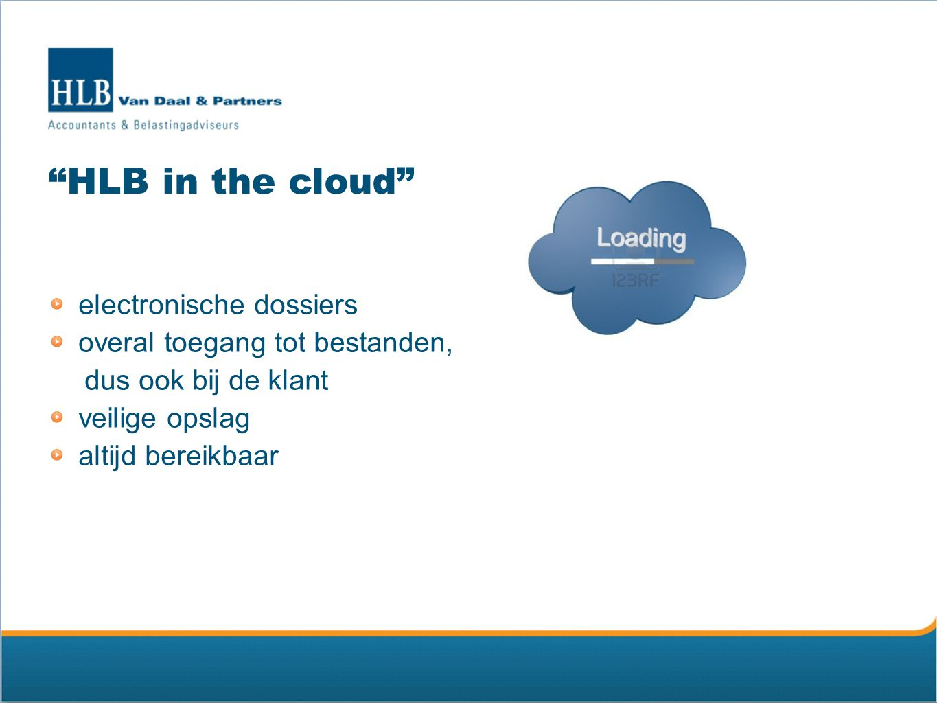 HLB in the cloud electronische dossiers