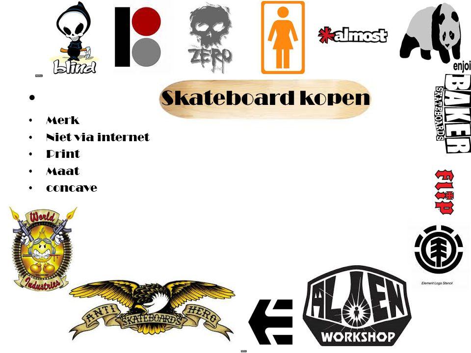 Skateboard kopen Merk Niet via internet Print Maat concave