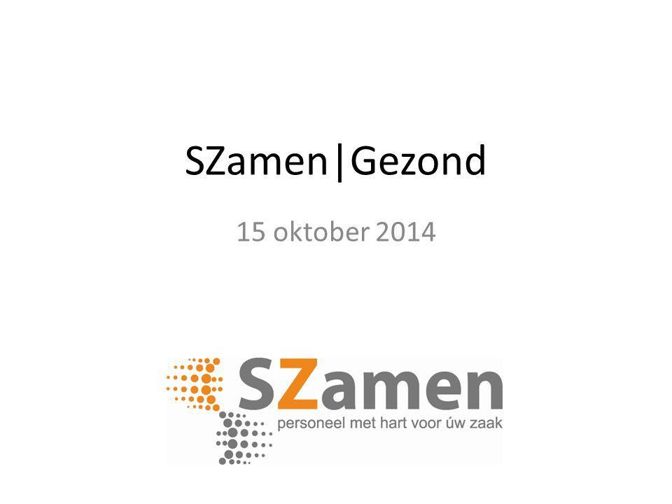 SZamen|Gezond 15 oktober 2014