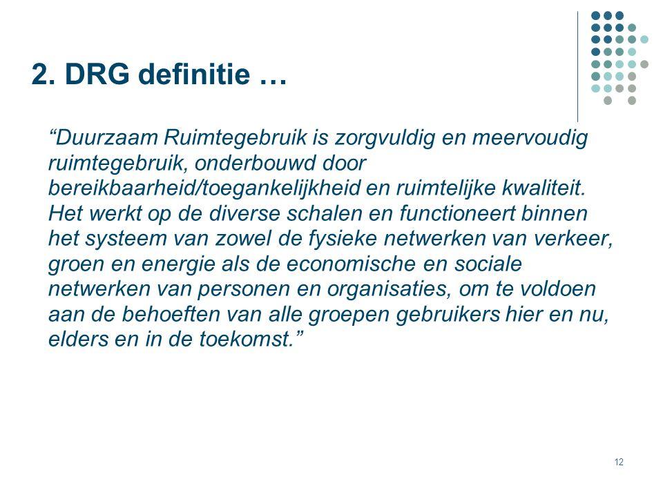 2. DRG definitie …