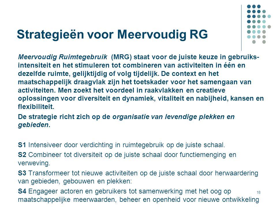 Strategieën voor Meervoudig RG