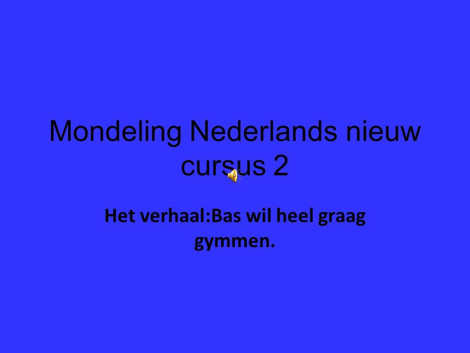 Mondeling Nederlands nieuw cursus 2