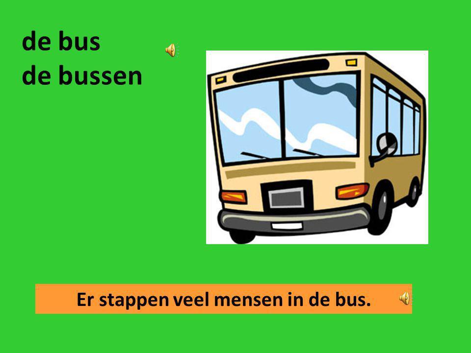 Er stappen veel mensen in de bus.