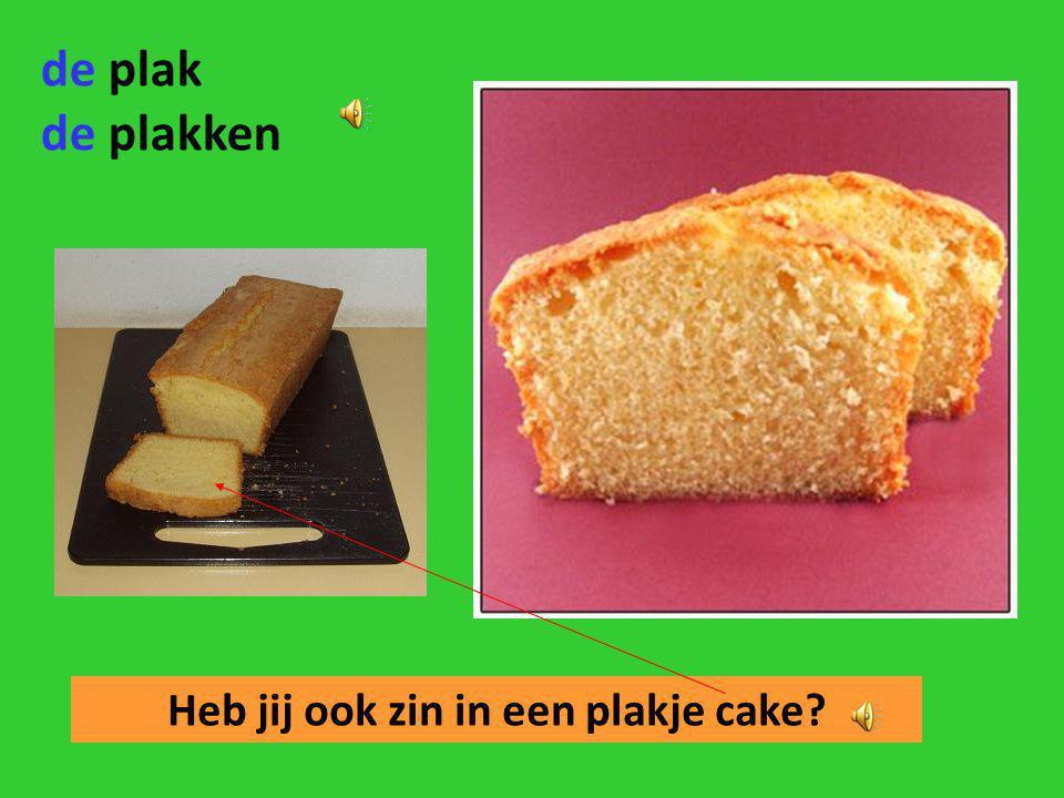 Heb jij ook zin in een plakje cake