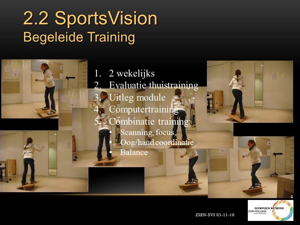 2.2 SportsVision Begeleide Training