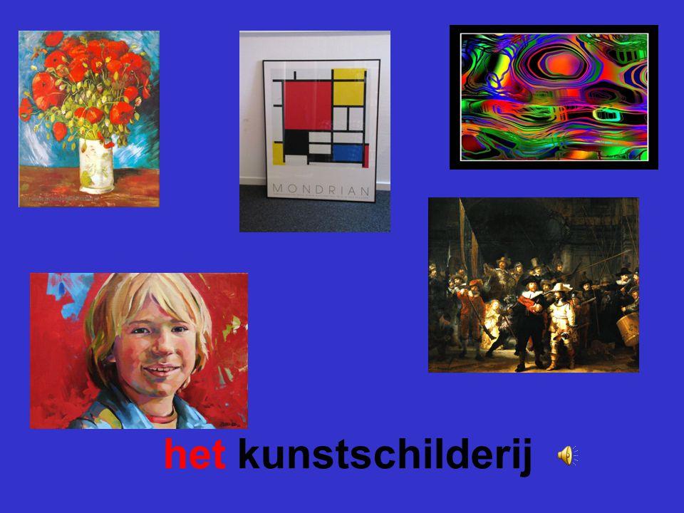 het kunstschilderij