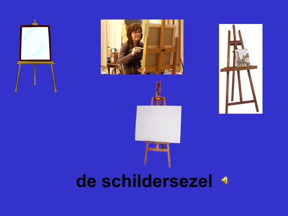 de schildersezel