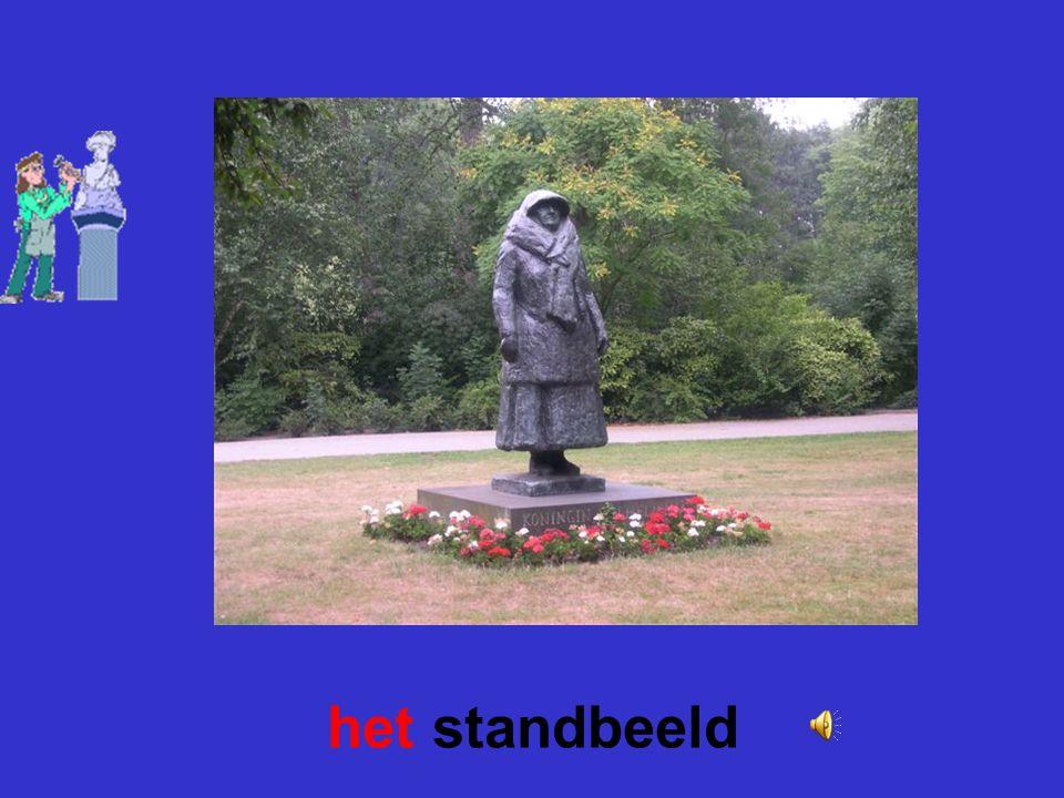 het standbeeld