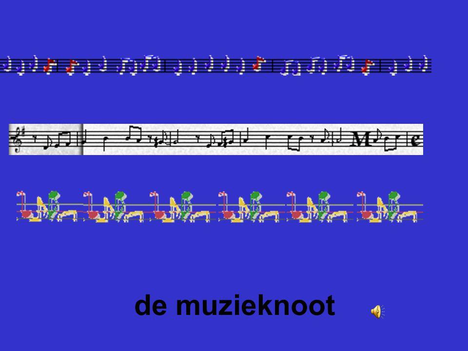 de muzieknoot