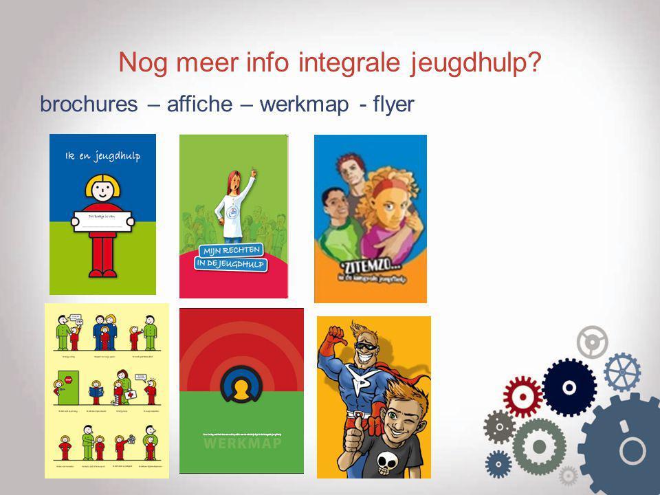Nog meer info integrale jeugdhulp