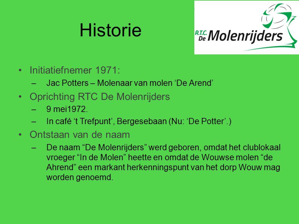 Historie Initiatiefnemer 1971: Oprichting RTC De Molenrijders