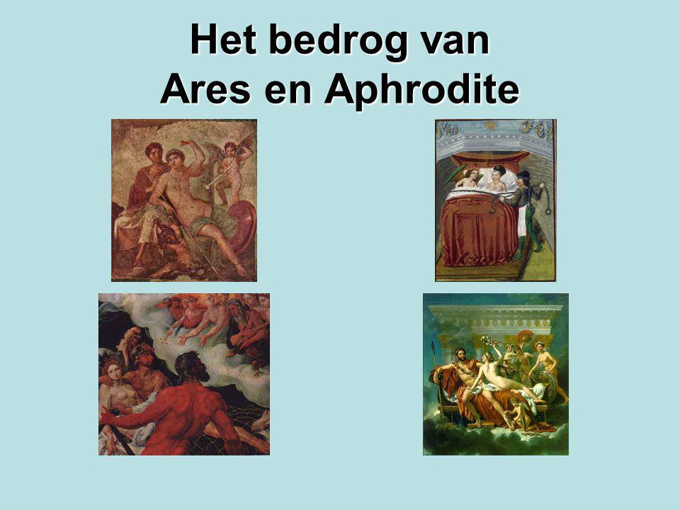 Het bedrog van Ares en Aphrodite