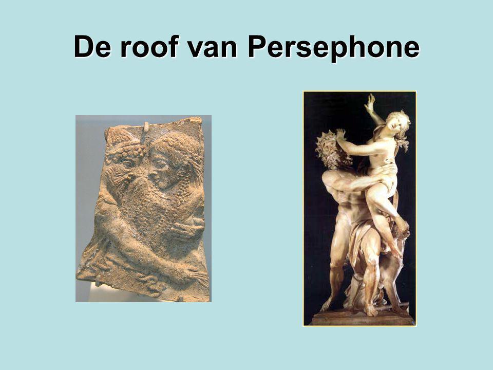 De roof van Persephone