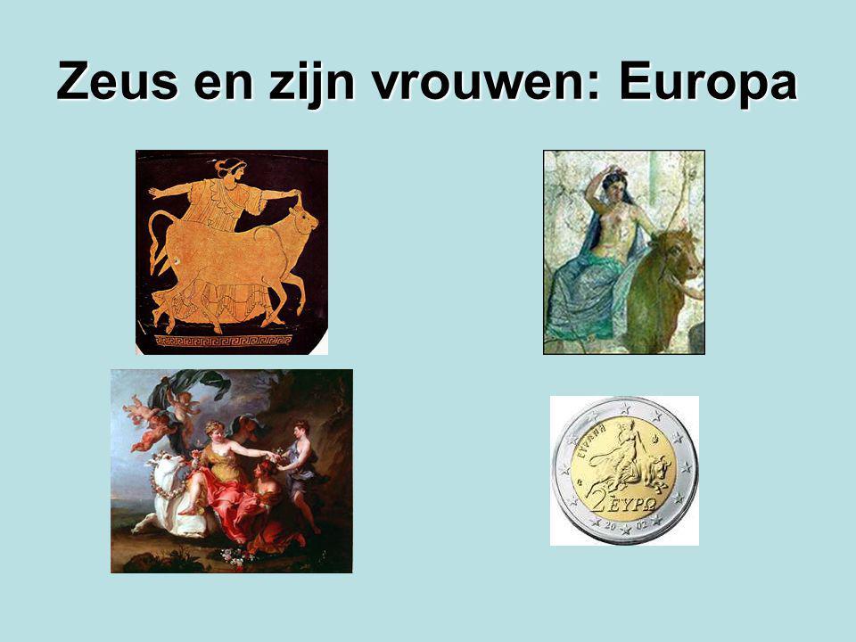 Zeus en zijn vrouwen: Europa