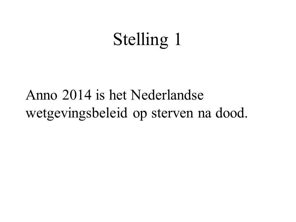 Stelling 1 Anno 2014 is het Nederlandse