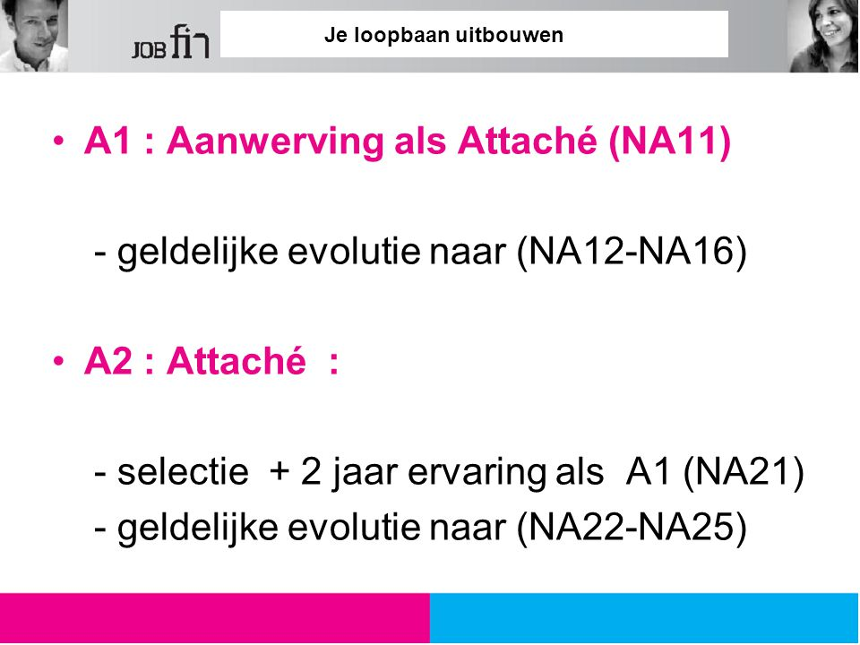 A1 : Aanwerving als Attaché (NA11)