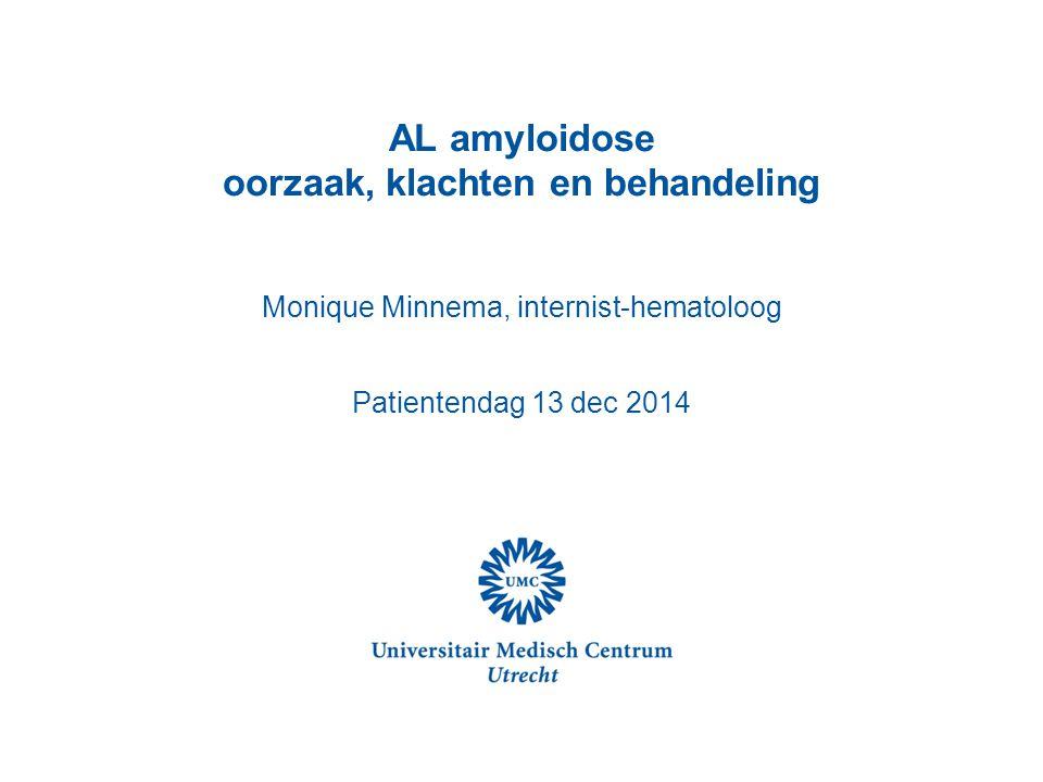 AL amyloidose oorzaak, klachten en behandeling