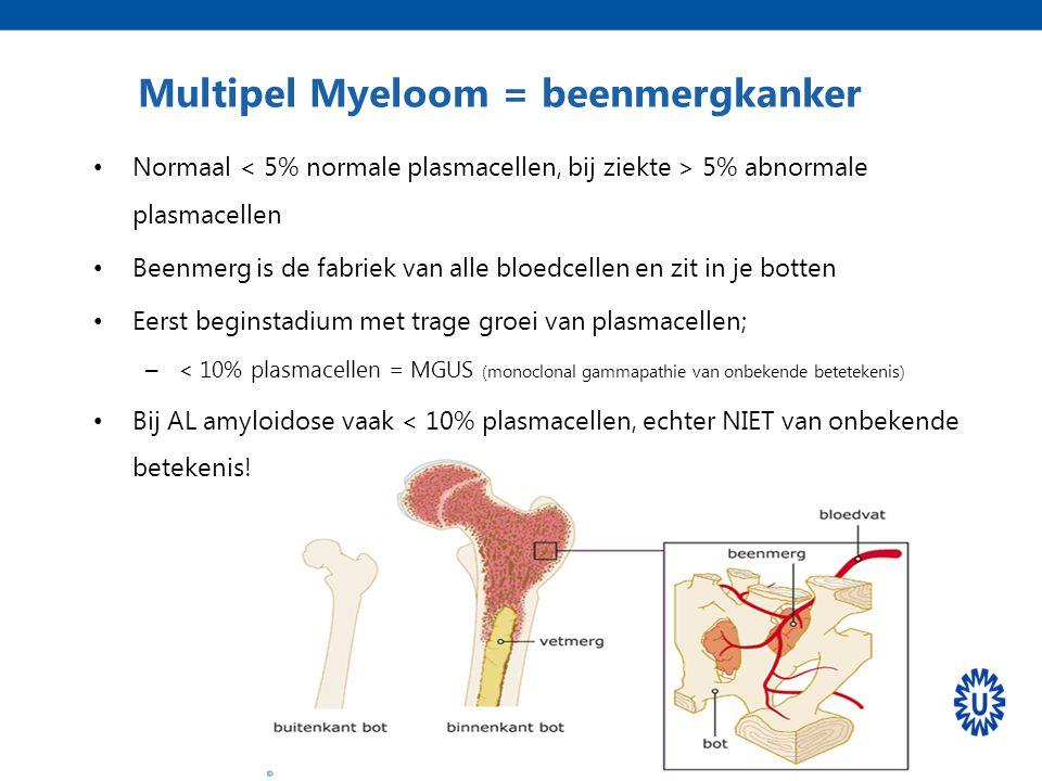 Multipel Myeloom = beenmergkanker