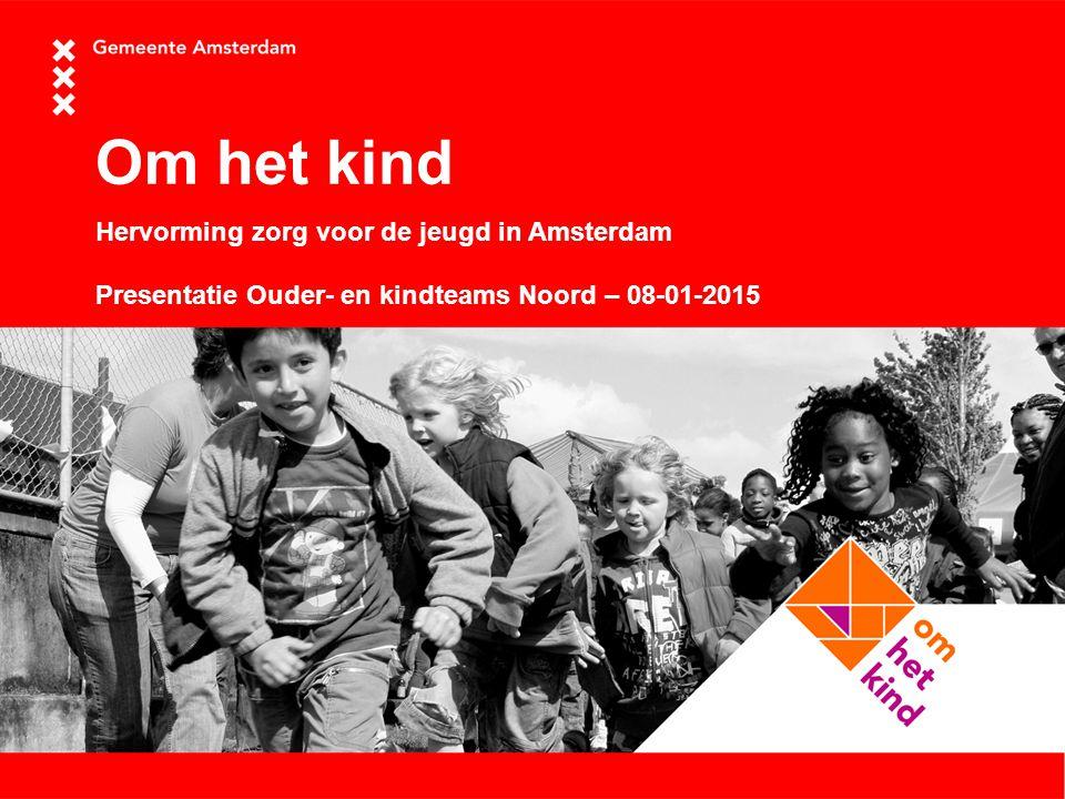 Om het kind Hervorming zorg voor de jeugd in Amsterdam