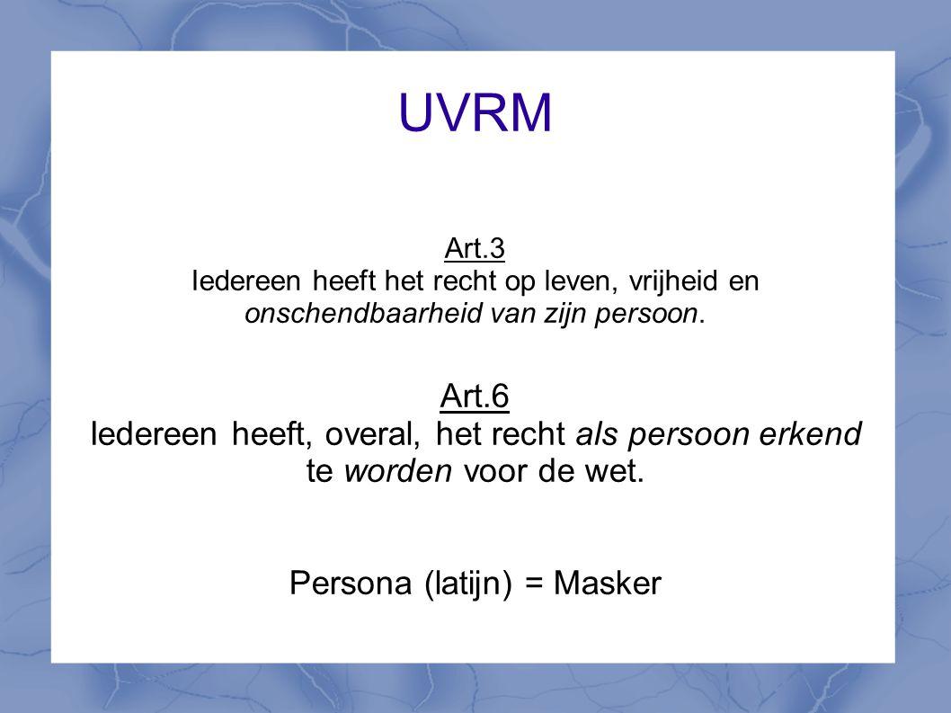 Persona (latijn) = Masker