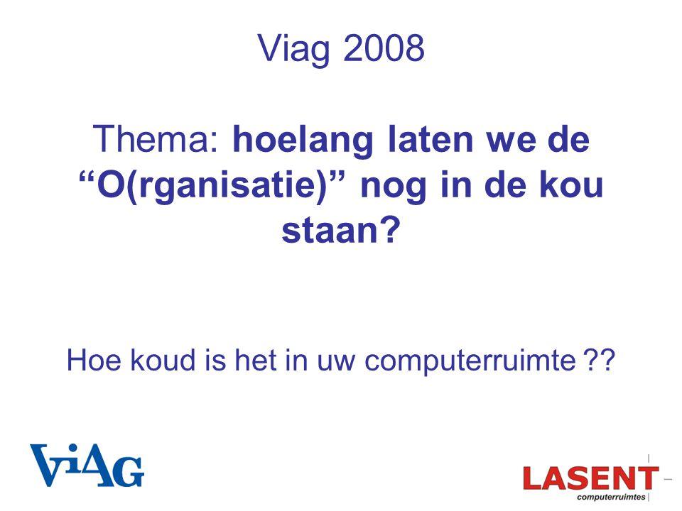 Viag 2008 Thema: hoelang laten we de O(rganisatie) nog in de kou staan