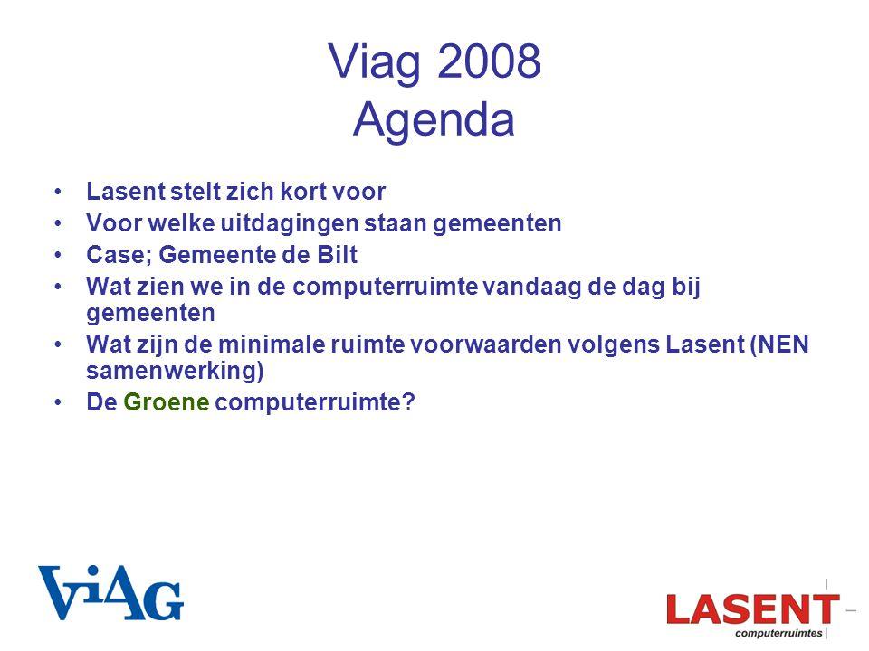 Viag 2008 Agenda Lasent stelt zich kort voor