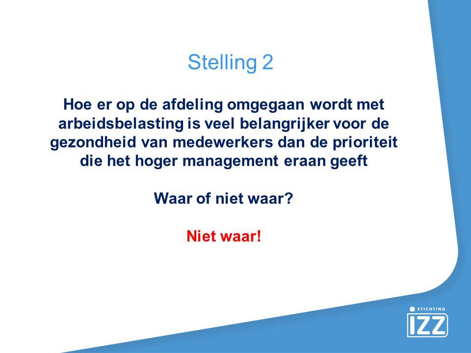 Stelling 2 Stelling 5.