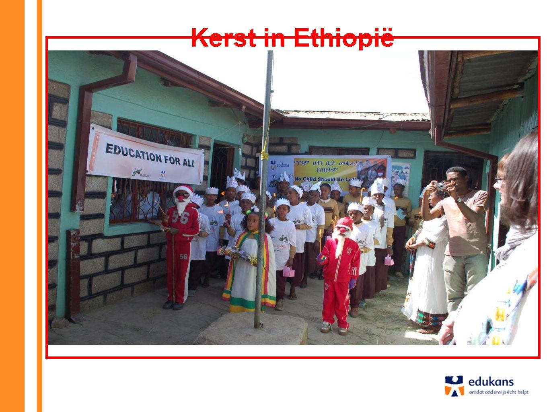 Kerst in Ethiopië