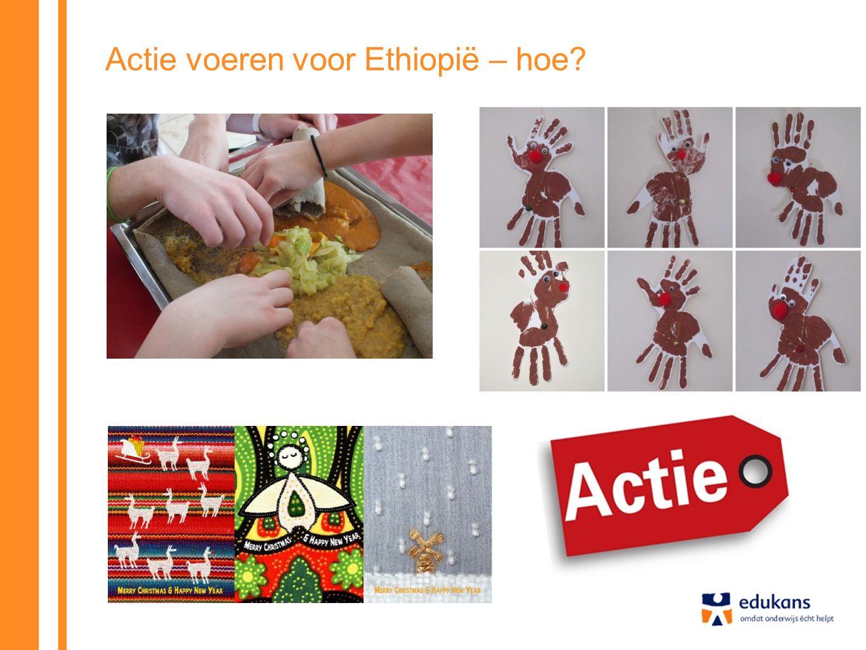 Actie voeren voor Ethiopië – hoe
