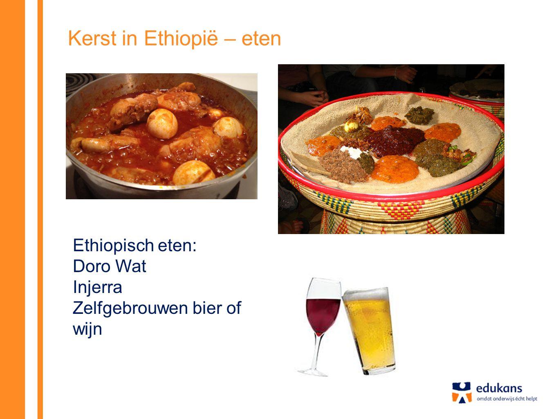 Kerst in Ethiopië – eten