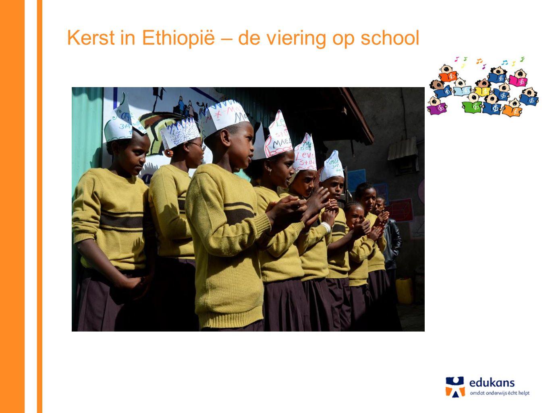 Kerst in Ethiopië – de viering op school